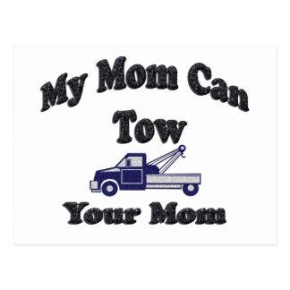Mi mamá puede remolcar a su mamá tarjeta postal