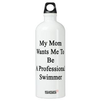 Mi mamá quisiera que fuera nadador profesional