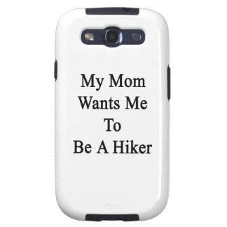 Mi mamá quisiera que fuera un caminante samsung galaxy s3 carcasas