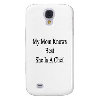Mi mamá sabe mejor que ella es cocinero samsung galaxy s4 cover