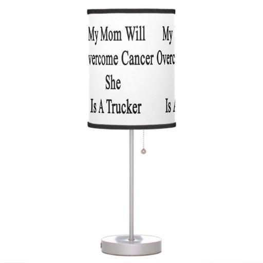 Mi mamá superará al cáncer que ella es camionero