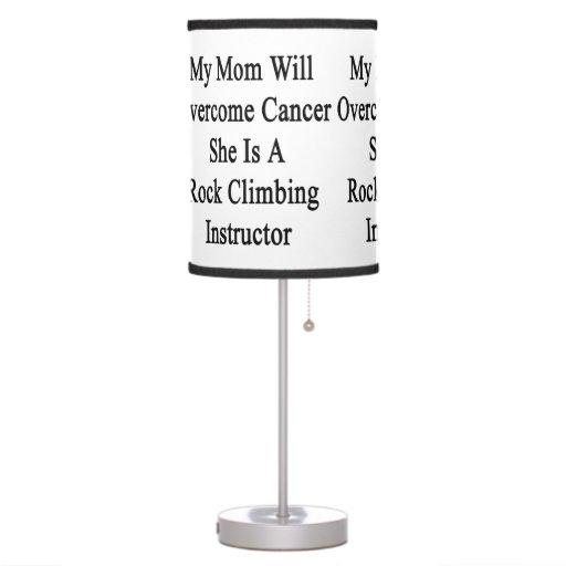 Mi mamá superará al cáncer que ella es una escalad