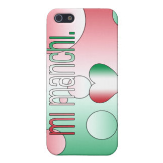 Mi Manchi! Italy Flag Colors Pop Art iPhone 5 Cases