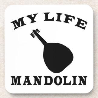 Mi mandolina de la vida posavasos de bebidas