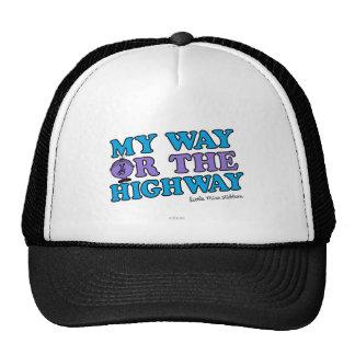 Mi manera o la carretera gorras de camionero