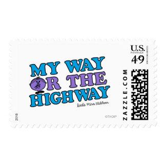 Mi manera o la carretera sellos