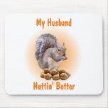 Mi marido alfombrilla de ratón