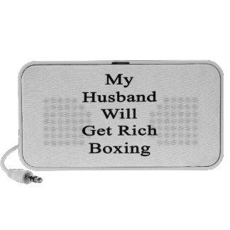 Mi marido conseguirá el boxeo rico sistema altavoz