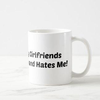 Mi marido de las novias me odia taza de café
