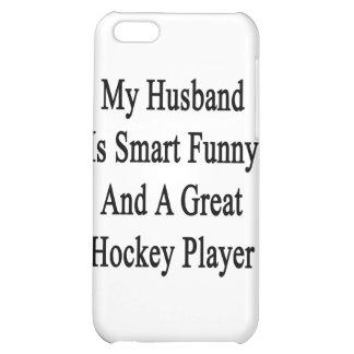 Mi marido es divertido elegante y un gran hockey P