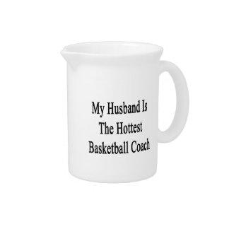 Mi marido es el entrenador de béisbol más caliente jarras de beber