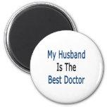 mi marido es el mejor doctor imán de frigorifico