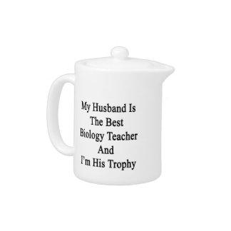 Mi marido es el mejor profesor de biología y soy