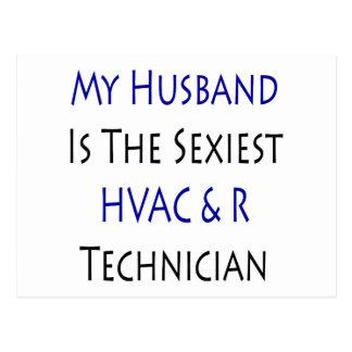 Mi marido es el técnico más atractivo de la HVAC y Postales