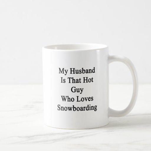 Mi marido es ese individuo caliente que ama Snowbo Tazas