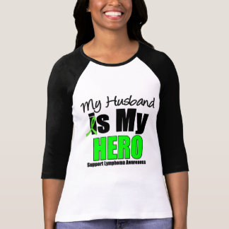 Mi marido es mi héroe camiseta