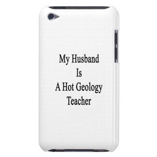 Mi marido es profesor caliente de la geología iPod Case-Mate cárcasas