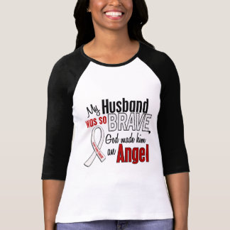 Mi marido es un cáncer de pulmón del ángel playera
