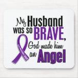 Mi marido es un cáncer pancreático del ángel tapete de ratones