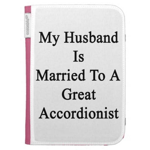 Mi marido está casado con un gran acordeonista