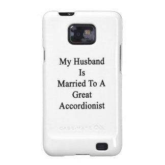 Mi marido está casado con un gran acordeonista galaxy s2 carcasa