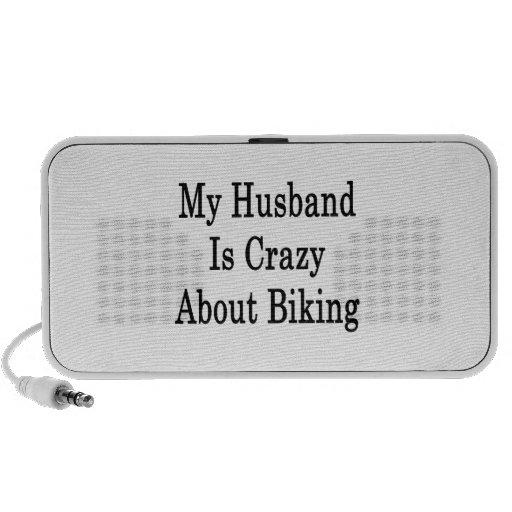 Mi marido está loco por Biking Mp3 Altavoces
