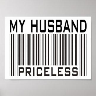 Mi marido inestimable póster