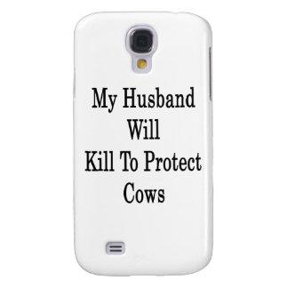 Mi marido matará para proteger vacas