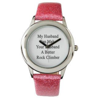 Mi marido puede hacer su marido una mejor roca Cli Reloj