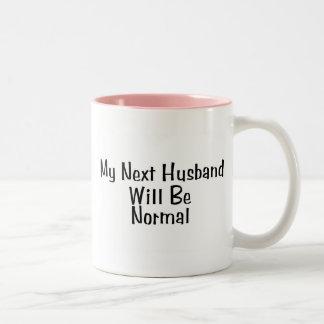 Mi marido siguiente será normal tazas de café