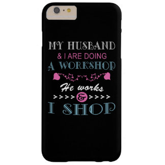 MI MARIDO Y YO ESTAMOS HACIENDO UN TALLER FUNDA DE iPhone 6 PLUS BARELY THERE