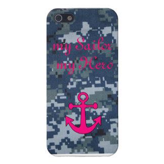 mi marinero mi caja del teléfono del héroe NWU iPhone 5 Fundas