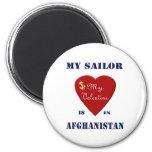 Mi marinero, mi tarjeta del día de San Valentín Iman De Nevera
