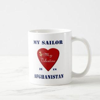 Mi marinero, mi tarjeta del día de San Valentín Taza