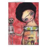 Mi marioneta tarjeta de felicitación