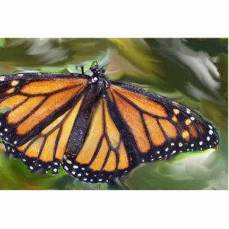 Mi mariposa de reclinación fotoescultura vertical