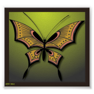 Mi mariposa verde posters