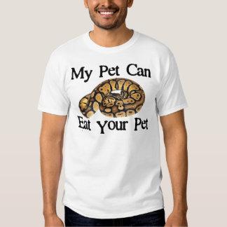 Mi mascota puede comer a su mascota camisas