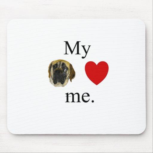 Mi mastif me ama tapete de ratones