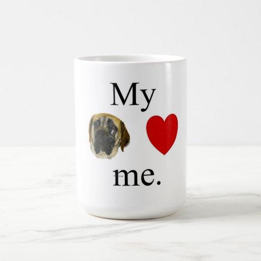 Mi mastif me ama tazas