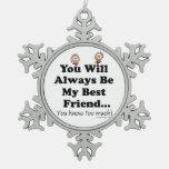 Mi mejor amigo adornos