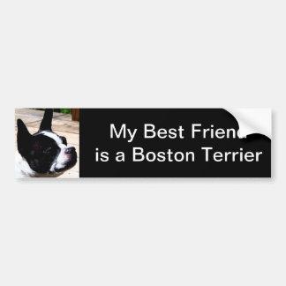 Mi mejor amigo es pegatina para el parachoques de  pegatina para auto