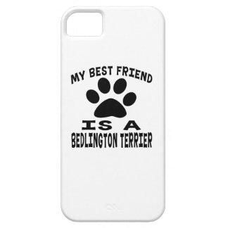 Mi mejor amigo es un Bedlington Terrier iPhone 5 Carcasas