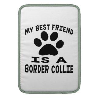Mi mejor amigo es un border collie funda macbook air