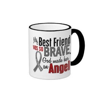 Mi mejor amigo es un cáncer de cerebro del ángel 1 tazas de café