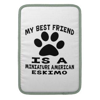 Mi mejor amigo es un esquimal americano miniatura fundas para macbook air