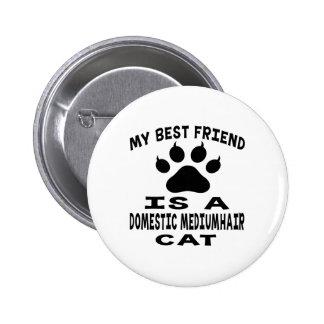 Mi mejor amigo es un gato nacional del mediumhair pins