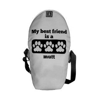 Mi mejor amigo es un Mutt Bolsas Messenger