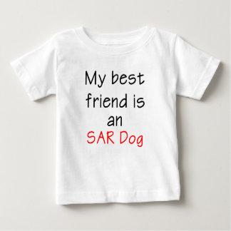 Mi mejor amigo es un perro del SAR Playera Para Bebé