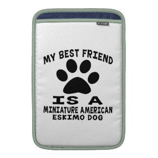 Mi mejor amigo es un perro esquimal americano mini fundas para macbook air